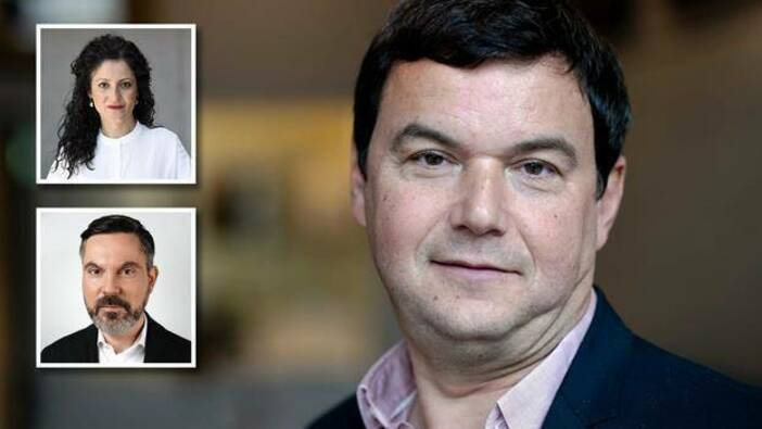 Bilder: Thomas Piketty: picture alliance / ANP | «Sander Koning»; Cansel Kiziltepe: Deutscher Bundestag / Inga Haar