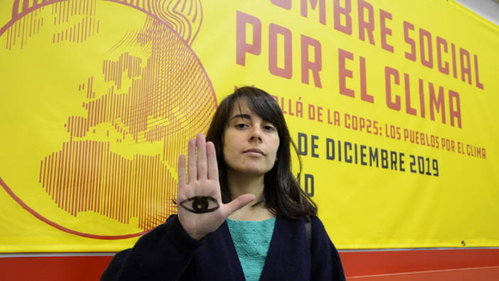 Angela Valenzuela is a member of Fridays For Future Chile